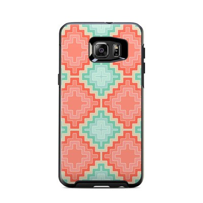 Otterbox Symmetry Samsung Galaxy S6 Edge Plus Skin - Coral Diamond
