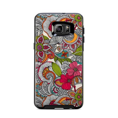 OtterBox Symmetry Samsung Galaxy S6 Edge Plus Skin - Doodles Color