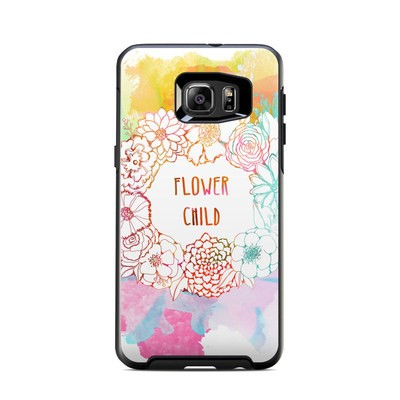 OtterBox Symmetry Samsung Galaxy S6 Edge Plus Skin - Flower Child