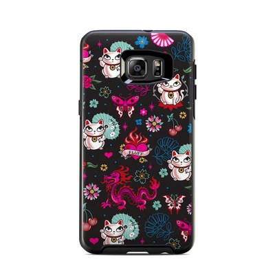 Otterbox Symmetry Samsung Galaxy S6 Edge Plus Skin - Geisha Kitty