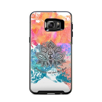 OtterBox Symmetry Samsung Galaxy S6 Edge Plus Skin - Happy Lotus