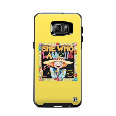 Otterbox Symmetry Samsung Galaxy S6 Edge Plus Skin - She Who Laughs
