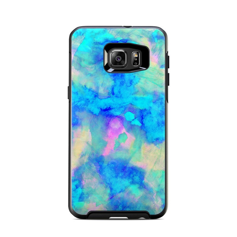 hot sale online 98688 f4f2d OtterBox Symmetry Samsung Galaxy S6 Edge Plus Skin - Electrify Ice Blue