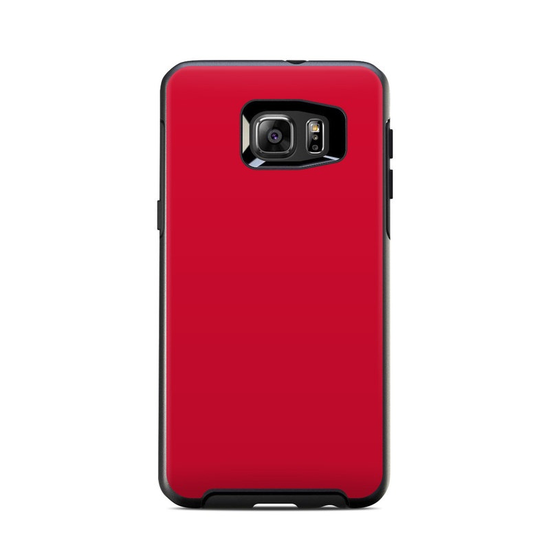 new concept 9bd82 5995b OtterBox Symmetry Samsung Galaxy S6 Edge Plus Skin - Solid State Red