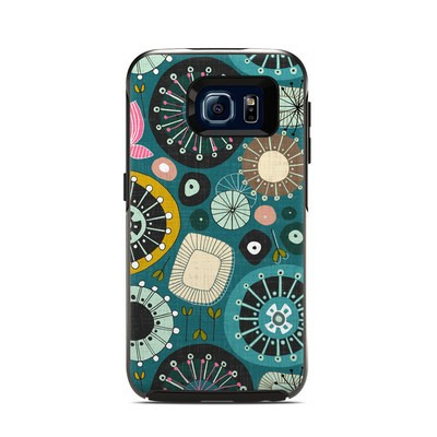 Otterbox Symmetry Samsung Galaxy S6 Skin - Blooms Teal