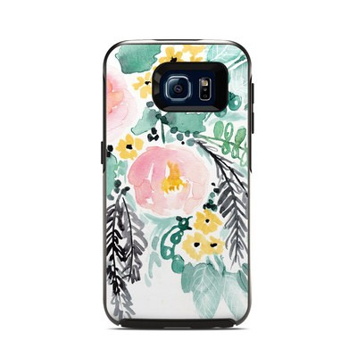 OtterBox Symmetry Samsung Galaxy S6 Skin - Blushed Flowers