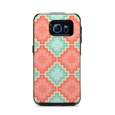 Otterbox Symmetry Samsung Galaxy S6 Skin - Coral Diamond