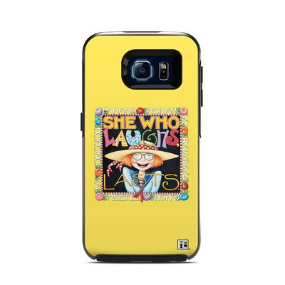 Otterbox Symmetry Samsung Galaxy S6 Skin - She Who Laughs