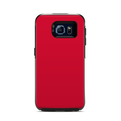 OtterBox Symmetry Samsung Galaxy S6 Skin - Solid State Red