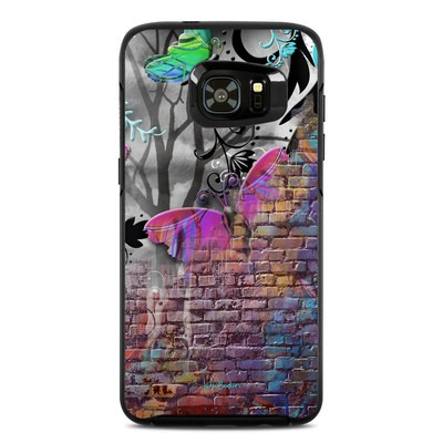 Otterbox Symmetry Samsung Galaxy S7 Edge Skin - Butterfly Wall