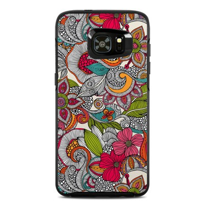 Otterbox Symmetry Samsung Galaxy S7 Edge Skin - Doodles Color