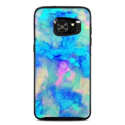 Otterbox Symmetry Samsung Galaxy S7 Edge Skin - Electrify Ice Blue