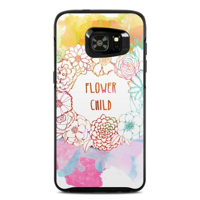 OtterBox Symmetry Samsung Galaxy S7 Edge Skin - Flower Child