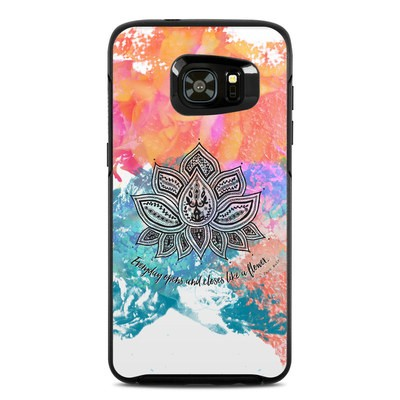 OtterBox Symmetry Samsung Galaxy S7 Edge Skin - Happy Lotus