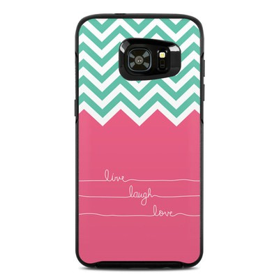 OtterBox Symmetry Samsung Galaxy S7 Edge Skin - Live Laugh Love