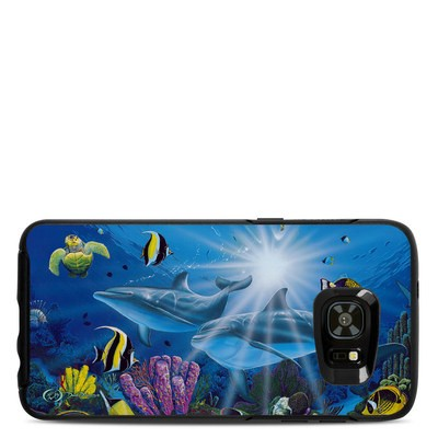 Otterbox Symmetry Samsung Galaxy S7 Edge Skin - Ocean Friends