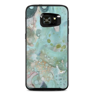 OtterBox Symmetry Samsung Galaxy S7 Edge Skin - Organic In Blue