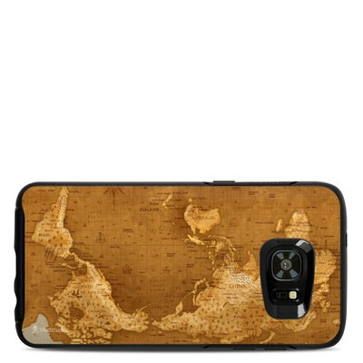 OtterBox Symmetry Samsung Galaxy S7 Edge Skin - Upside Down Map