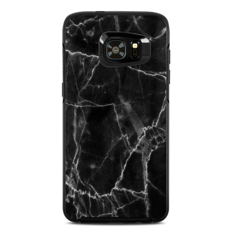 best service 7a744 d99f6 OtterBox Symmetry Samsung Galaxy S7 Edge Skin - Black Marble
