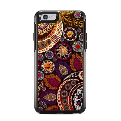 OtterBox Symmetry iPhone 6 Case Skin - Autumn Mehndi