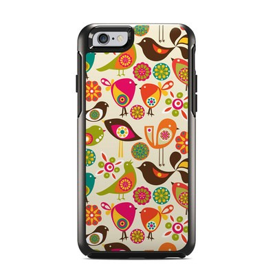 OtterBox Symmetry iPhone 6 Case Skin - Bird Flowers