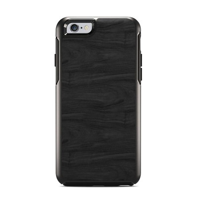 OtterBox Symmetry iPhone 6 Case Skin - Black Woodgrain