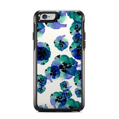 OtterBox Symmetry iPhone 6 Case Skin - Blue Eye Flowers