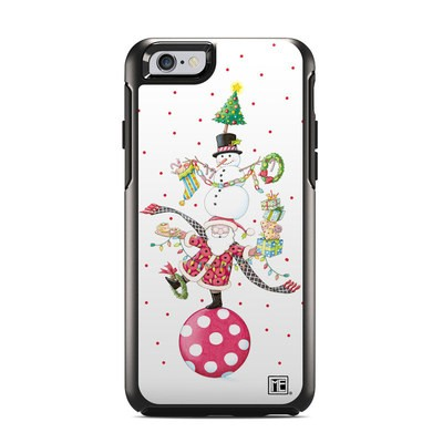OtterBox Symmetry iPhone 6 Case Skin - Christmas Circus