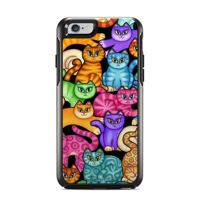 OtterBox Symmetry iPhone 6 Case Skin - Colorful Kittens