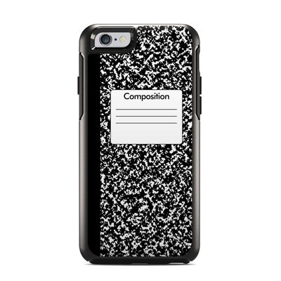 OtterBox Symmetry iPhone 6 Case Skin - Composition Notebook