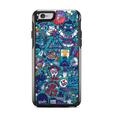 OtterBox Symmetry iPhone 6 Case Skin - Cosmic Ray