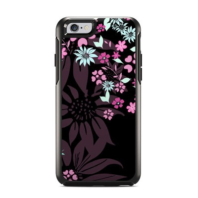 OtterBox Symmetry iPhone 6 Case Skin - Dark Flowers
