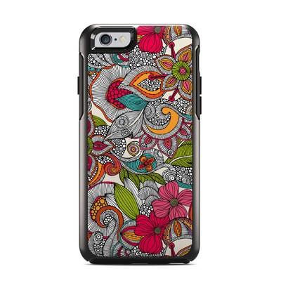 OtterBox Symmetry iPhone 6 Case Skin - Doodles Color