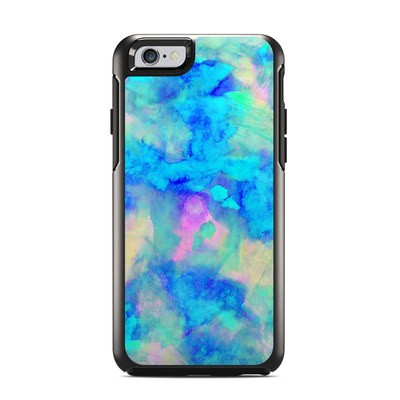 OtterBox Symmetry iPhone 6 Case Skin - Electrify Ice Blue