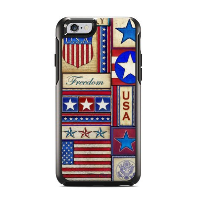 OtterBox Symmetry iPhone 6 Case Skin - Flag Patchwork