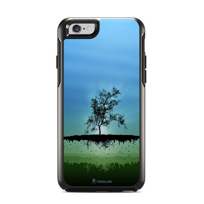 OtterBox Symmetry iPhone 6 Case Skin - Flying Tree Blue
