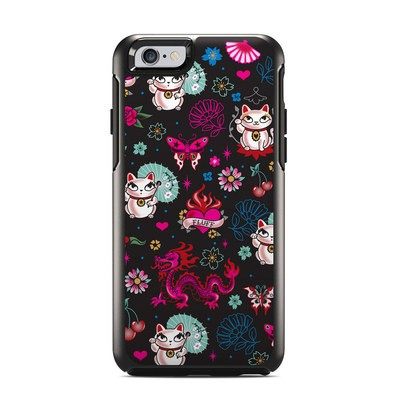 OtterBox Symmetry iPhone 6 Case Skin - Geisha Kitty
