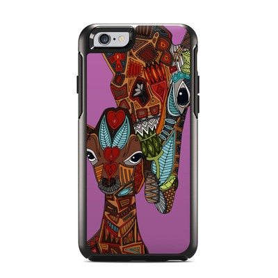 OtterBox Symmetry iPhone 6 Case Skin - Giraffe Love