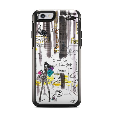 OtterBox Symmetry iPhone 6 Case Skin - My New York Mood