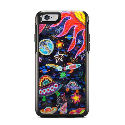 OtterBox Symmetry iPhone 6 Case Skin - Out to Space
