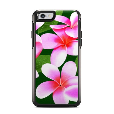OtterBox Symmetry iPhone 6 Case Skin - Pink Plumerias