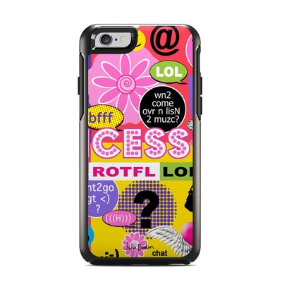 OtterBox Symmetry iPhone 6 Case Skin - Princess Text Me