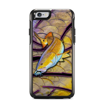 OtterBox Symmetry iPhone 6 Case Skin - Red Fish