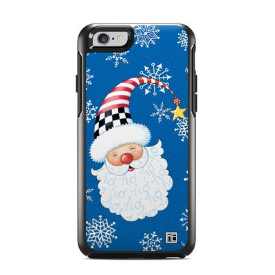 OtterBox Symmetry iPhone 6 Case Skin - Santa Snowflake