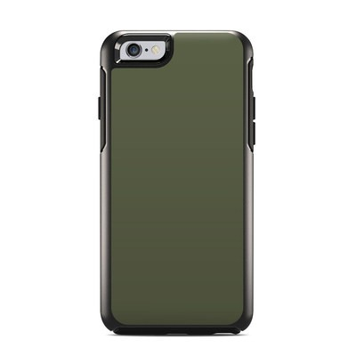OtterBox Symmetry iPhone 6 Case Skin - Solid State Olive Drab