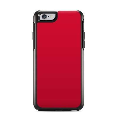 OtterBox Symmetry iPhone 6 Case Skin - Solid State Red