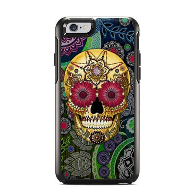 OtterBox Symmetry iPhone 6 Case Skin - Sugar Skull Paisley