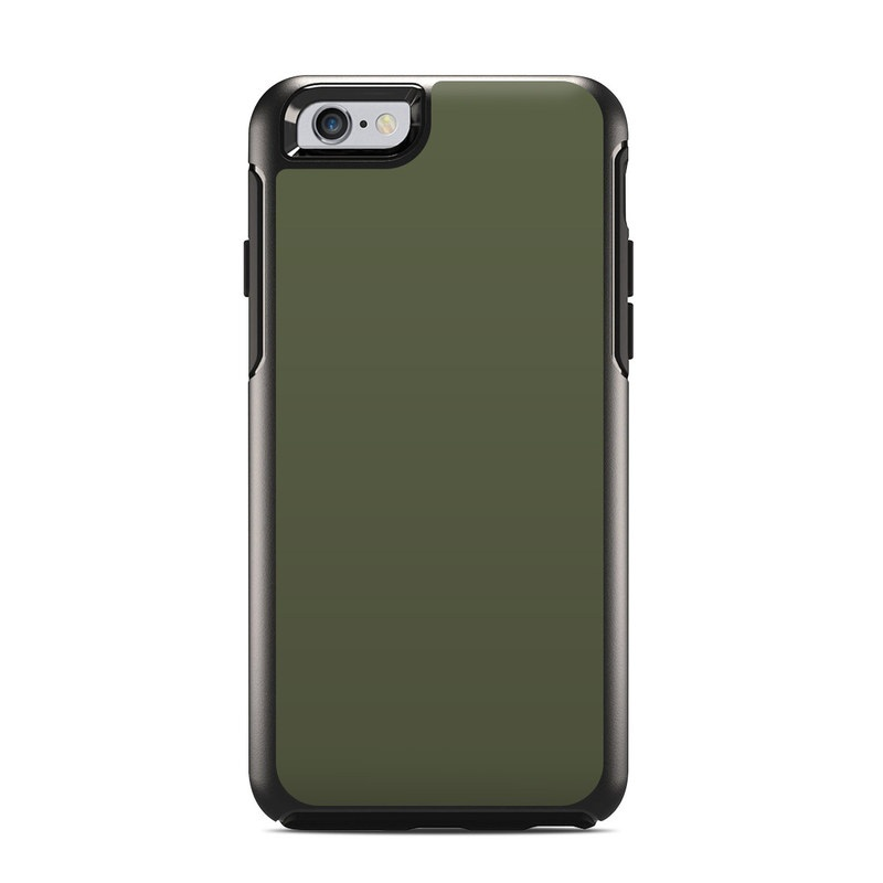 reputable site efc97 ed9a1 OtterBox Symmetry iPhone 6 Case Skin - Solid State Olive Drab