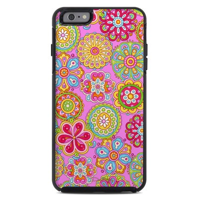 OtterBox Symmetry iPhone 6 Plus Case Skin - Bright Flowers
