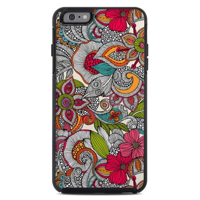 OtterBox Symmetry iPhone 6 Plus Case Skin - Doodles Color